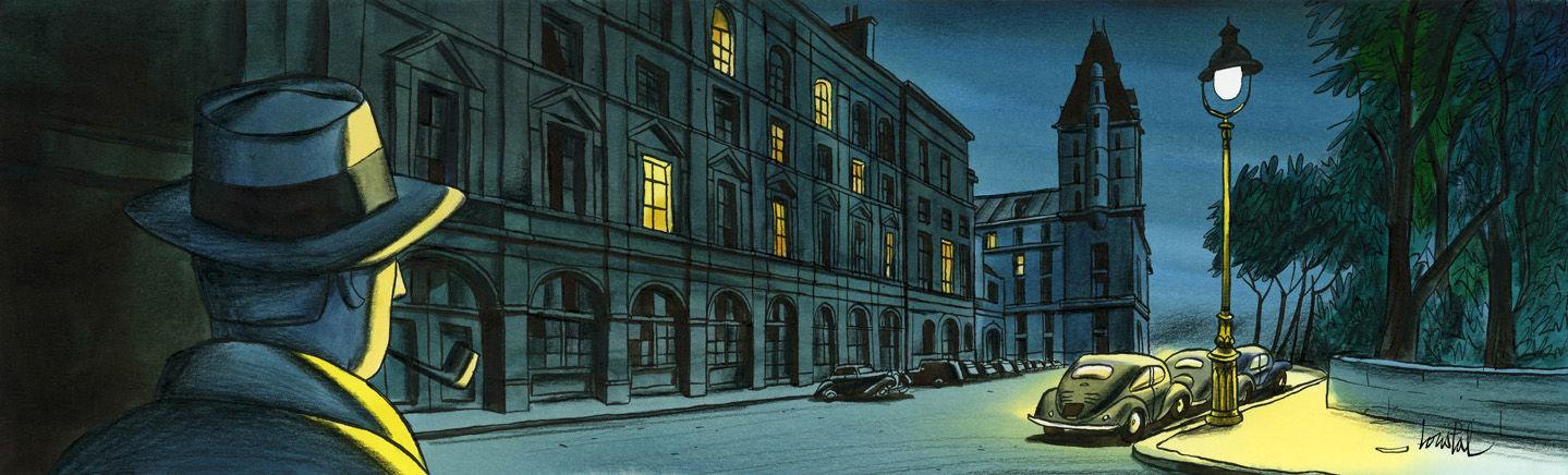 """Maigret alluma sa pipe puis s'adressa à son inspecteur : """"Dis, Janvier...""""  Maigret-cover-1-1439x436"""